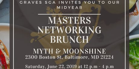 MASTERS STUDENT/ALUMI NETWORKING BRUNCH tickets