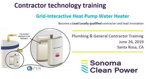 SCP Contractor Training - Grid Interactive Heat Pump Water Heater