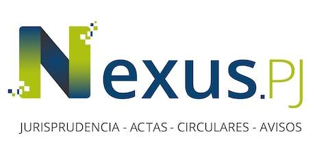 Capacitación Nexus.PJ - Tribunales de Goicoechea entradas