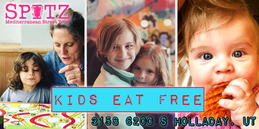 Kids Eat Free Every Tuesday at Spitz - Cottonwood!