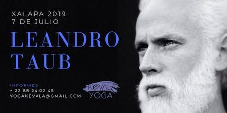 Leandro Taub en Xalapa: Domingo 7 de Julio de 2019 boletos
