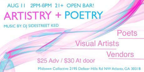 Midtown Artistry & Poetry tickets