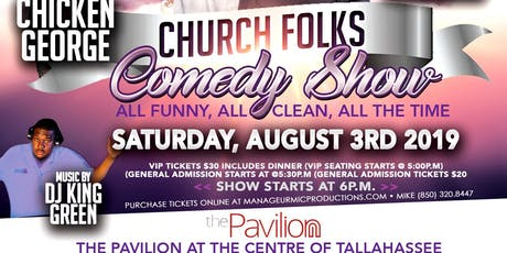 GGYLO presents Church Folks Comedy Show  tickets