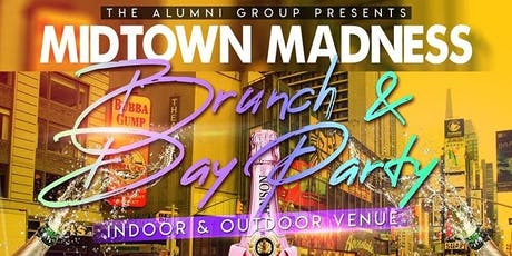 Midtown Madness: A Weekly Brunch Party at Soho Park  tickets