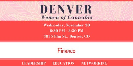 Denver Women of Cannabis - November Networking Event tickets