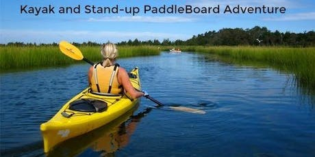 Long Island Singles Kayaking & SUP Adventure  tickets