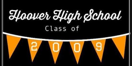 Hoover High School Class of 2009 10 Year Reunion tickets