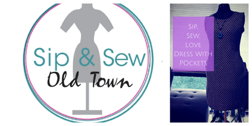 Sip And Sew Pop UP: Dress With Pockets