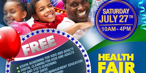 Health and wellness fair at Little Haiti