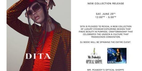 DITA x Mr.Peabodys Optical Feat. DJ Bodie tickets