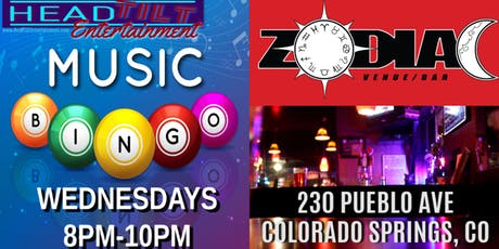 Music Bingo at Zodiac Venue/Bar - Colorado Springs, CO tickets