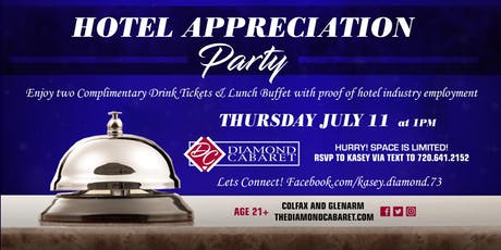 Hotel Appreciation Party tickets