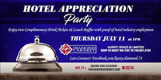 Hotel Appreciation Party