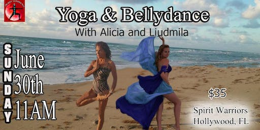 Yoga & Bellydance for our Female Energy