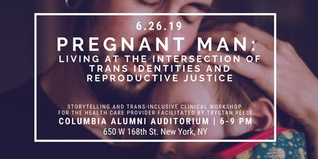 Trystan Reese (aka the pregnant man) at CUMC tickets