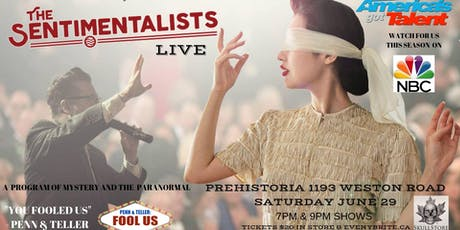 The Sentimentalists at Prehistoria tickets