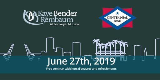 Funding Construction Loans [KBR Legal & Centennial Bank]