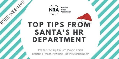 FREE WEBINAR | Top tips from Santa's HR department tickets
