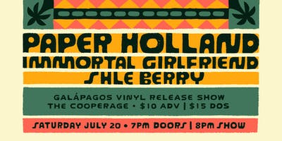 Paper Holland Vinyl Release with Immortal Girlfriend and Shle Berry