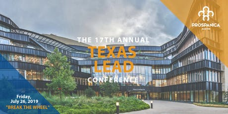 The 17th Annual Texas LEAD Conference 2019 tickets