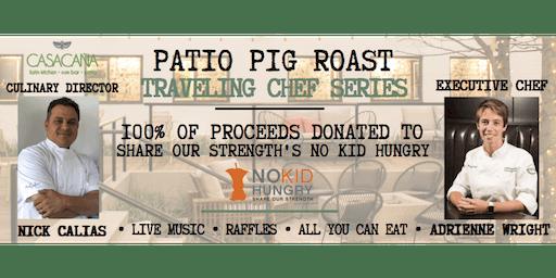 Patio Pig Roast Chef Series at Casa Caña ft. Adrienne Moiser of Deuxave!