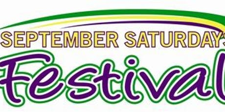 2019 September Saturday Festival ~ Non-food Vendor Registration tickets