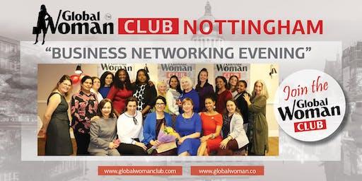 GLOBAL WOMAN CLUB NOTTINGHAM: BUSINESS NETWORKING EVENING - JUNE