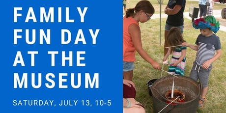 Family Fun Day at the Museum tickets