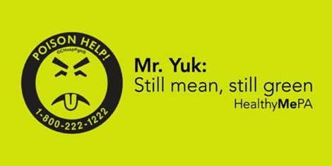 Mr.YUK in the library!