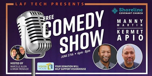 FREE Comedy Event for a Cause! Shoreline Covenant Church