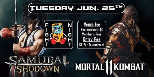 Mortal Kombat 11 & Samurai Shodown