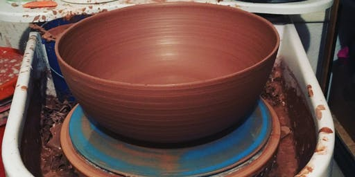 Throwing: Introduction to Clay on the Potter's Wheel Monday Day class