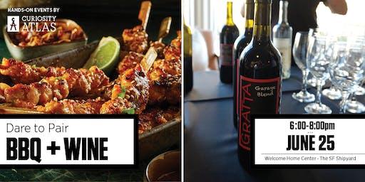 Dare to Pare: BBQ & Gratta Wines