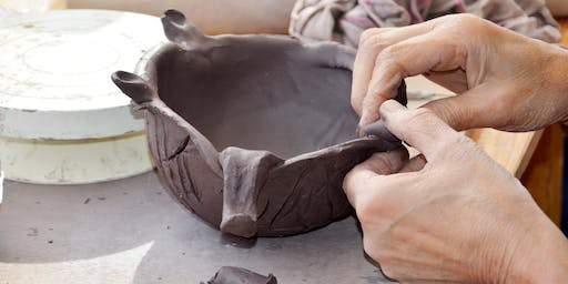 Clay Sampler Tuesday Day Class: All Level clay craftsmanship