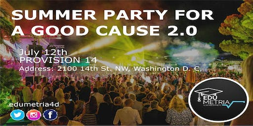 Summer Party for a Good Cause 2.0