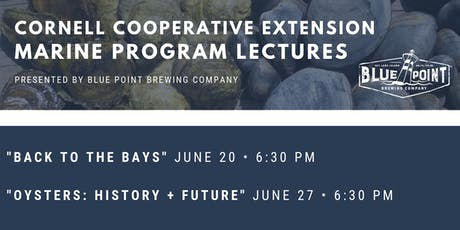 CCE Marine Program Lectures at Blue Point Brewery tickets