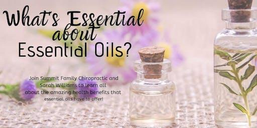 Essential Oils Workshop with Sarah Williams!