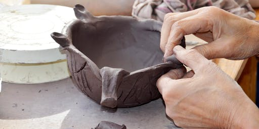 Clay Sampler Monday Evening Class: All Level hand-building and throwing