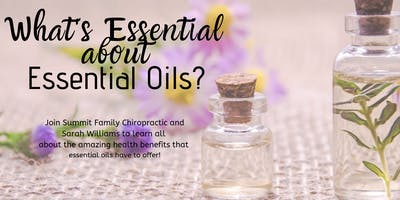 What's Essential about Essential Oils?