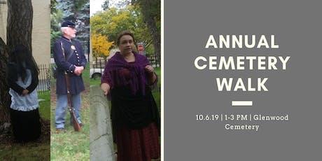 Annual Cemetery Walk tickets