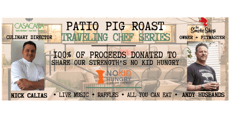 Patio Pig Roast Chef Series @ Casa Caña ft. Andy Husbands of The Smoke Shop tickets