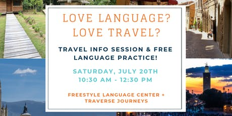 Travel, Language, Coffee (& Tacos!): What's Not to Love?! tickets