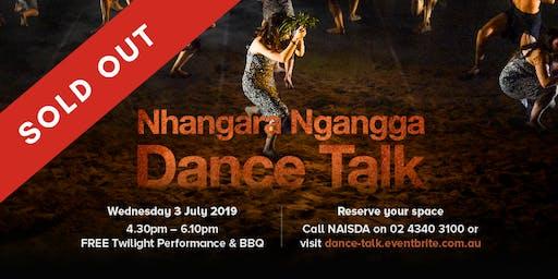 Nhangara Ngangga Dance Talk