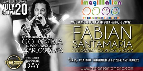 COLOMBIA INDEPENDENCE DAY tickets