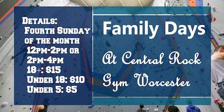 Family Climb Day tickets