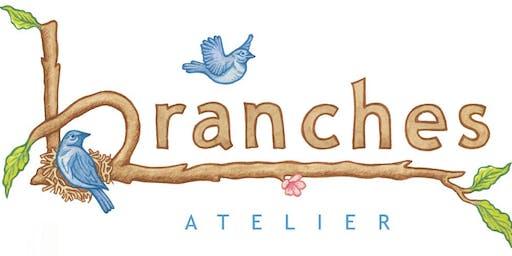 Branches Atelier Parent Tour for 8/2/2019  5:00-7:00