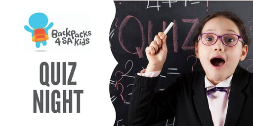 Backpacks 4 SA Kids Quiz Night