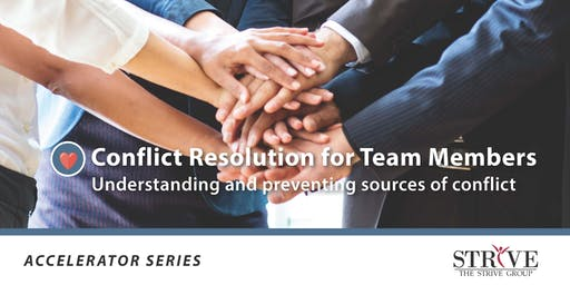Conflict Resolution for Team Members