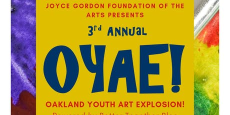 3rd Annual OYAE! Festival 2019 tickets