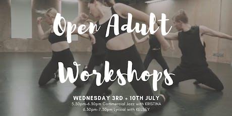 Open Adult Workshops tickets